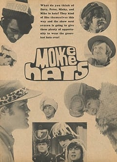 <cite>Monkee Spectacular</cite> (September 1967), Monkee Hats, Page 22
