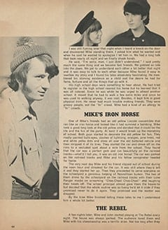 <cite>Monkee Spectacular</cite> (September 1967), Mike Nesmith: The Early Days, Page 44