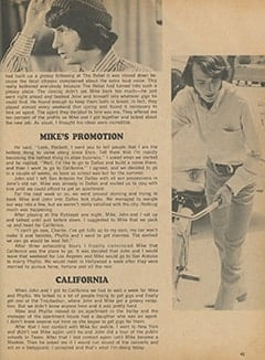 <cite>Monkee Spectacular</cite> (September 1967), Mike Nesmith: The Early Days, Page 45