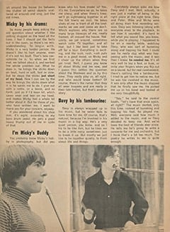 <cite>Monkee Spectacular</cite> (September 1967), Yes, Yes, Yes, The Monkees Play Their Own Instruments, Page 49