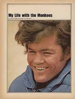 <cite>TeenSet</cite> (September 1967), My Life with The Monkees, Page 34