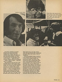 <cite>TeenSet</cite> (September 1967), My Life with The Monkees, Page 35