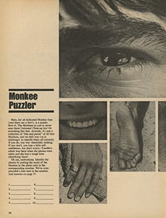 <cite>TeenSet</cite> (September 1967), Monkee Puzzler, Page 36