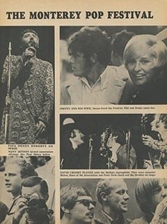 <cite>Tiger Beat</cite> (September 1967), Music, Flowers and Love: The Monterey Pop Festival, Page 11