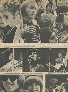 <cite>Tiger Beat</cite> (September 1967), Music, Flowers and Love: The Monterey Pop Festival, Page 13