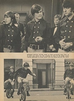 <cite>Tiger Beat</cite> (September 1967), I Visit with The Monkees (Part 10), Page 23