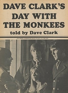 <cite>Tiger Beat</cite> (September 1967), Dave Clark&rsquo;s Day with The Monkees, Page 30