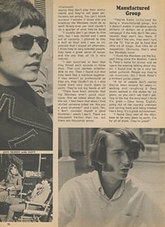 <cite>Tiger Beat</cite> (September 1967), Dave Clark&rsquo;s Day with The Monkees, Page 32