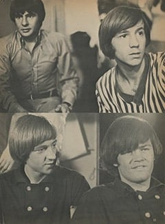 <cite>Tiger Beat</cite> (September 1967), Dave Clark&rsquo;s Day with The Monkees, Page 33
