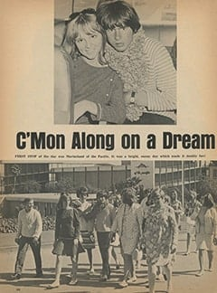 <cite>Tiger Beat</cite> (September 1967), C'mon Along on a Dream Date with Davy, Page 44