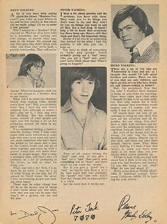 <cite>Tiger Beat</cite> (September 1967), Monkee Talk, Page 63