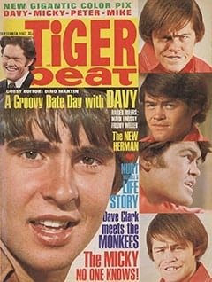 <cite>Tiger Beat</cite> (September 1967)