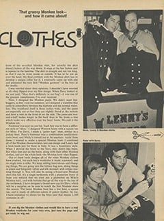 <cite>16</cite> (October 1967), I Make The Monkees Clothes, Page 07
