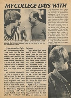 <cite>Flip</cite> (October 1967), My College Days with Peter Tork, Page 08