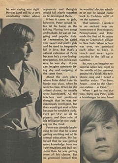 <cite>Flip</cite> (October 1967), My College Days with Peter Tork, Page 10