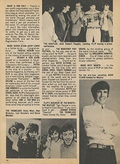 <cite>Flip</cite> (October 1967), On the Flip Side, Page 13