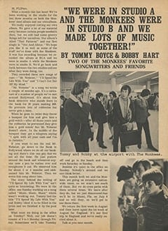 <cite>Flip</cite> (October 1967), We Were in Studio A and The Monkees Were in Studio B, Page 15