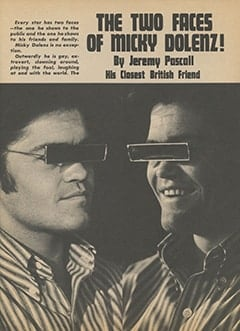 <cite>Flip</cite> (October 1967), The Two Faces of Micky Dolenz, Page 21