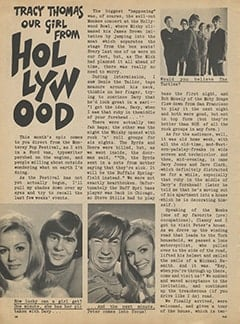 <cite>Flip</cite> (October 1967), Our Girl from Hollywood, Page 38