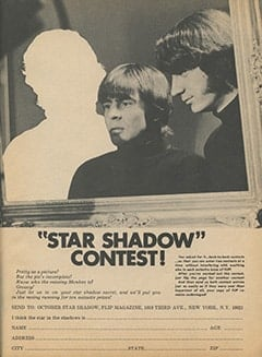 <cite>Flip</cite> (October 1967), Star Shadow Contest, Page 51