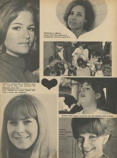<cite>Monkee Spectacular</cite> (October 1967), Girls in the Groove with The Monkees, Page 37
