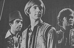 Rudy Bayshore (James Frawley), Peter Tork, Micky Dolenz