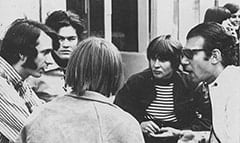 Mike Nesmith, Micky Dolenz, Peter Tork, Davy Jones, Bob Rafelson