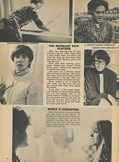 <cite>Tiger Beat</cite> (October 1967), Greatest Tour in Monkee History, Page 04
