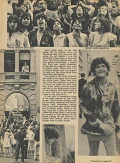 <cite>Tiger Beat</cite> (October 1967), Greatest Tour in Monkee History, Page 05