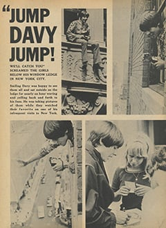 <cite>Tiger Beat</cite> (October 1967), Jump Davy Jump, Page 14