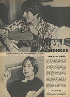 <cite>Tiger Beat</cite> (October 1967), Greatest Tour in Monkee History, Page 22