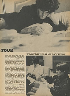 <cite>Tiger Beat</cite> (October 1967), Greatest Tour in Monkee History, Page 23