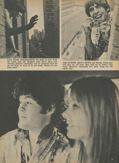 <cite>Tiger Beat</cite> (October 1967), I Visit with The Monkees (Part 11), Page 31