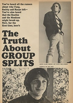 <cite>Tiger Beat</cite> (October 1967), The Truth About Group Splits, Page 41