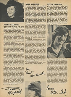 <cite>Tiger Beat</cite> (October 1967), Monkee Talk, Page 53