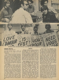 <cite>Tiger Beat</cite> (October 1967), The Truth About Group Splits, Page 60