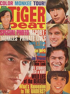 <cite>Tiger Beat</cite> (October 1967) cover