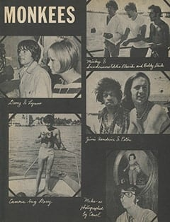 <cite>16</cite> (November 1967), Fun Time with The Monkees, Page 49
