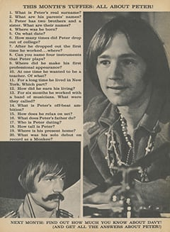 <cite>Flip</cite> (November 1967), How Much Do You Really Know About The Monkees?, Page 29