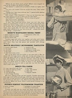 <cite>Monkee Spectacular</cite> (November 1967), Monkee Recipes, Page 49