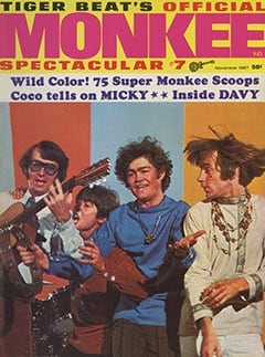 <cite>Monkee Spectacular</cite> (November 1967) cover