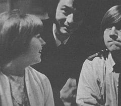 Ann Moses, Mike Nesmith, Peter Tork