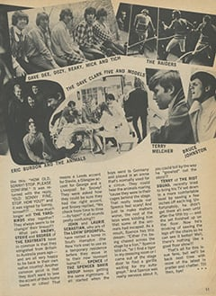 <cite>Star Time</cite> (November 1967), Group Gossip and Gab, Page 11