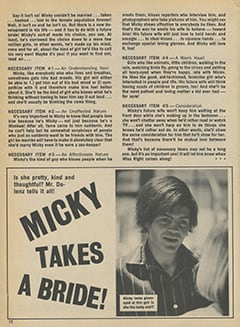 <cite>Star Time</cite> (November 1967), Micky Takes a Bride, Page 12