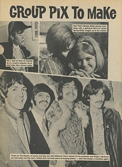 <cite>Star Time</cite> (November 1967), Group Pix to Make Your Eyes Pop, Page 22