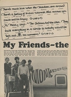 <cite>Tiger Beat</cite> (November 1967), My Friends—The Monkees, Page 04