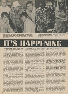 <cite>Tiger Beat</cite> (November 1967), It's Happening in Hollywood, Page 12