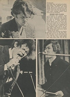 <cite>Tiger Beat</cite> (November 1967), The Day Micky Became a Monkee, Page 30