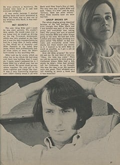 <cite>Tiger Beat</cite> (November 1967), How Mike and I Met, Page 37