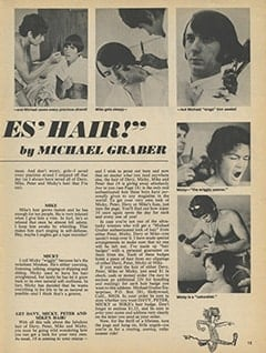 <cite>16</cite> (December 1967), I Cut The Monkees' Hair, Page 15